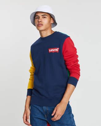 Levi's Modern Housemark Crew Neck Sweatshirt
