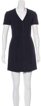 Balenciaga Crepe Mini Dress