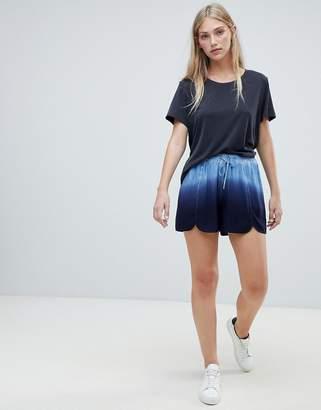 NATIVE YOUTH dip dye shorts