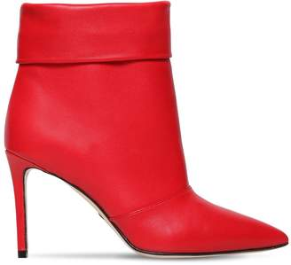 Paul Andrew 85mm Banner Leather Ankle Boots