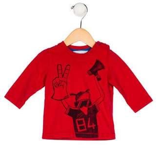 Little Marc Jacobs Girls' Printed Knit Shirt