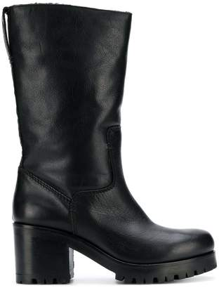 Strategia mid-calf high boots