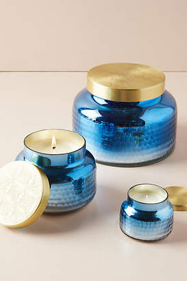 Anthropologie Capri Blue Volcano Iridescent Jar Candle