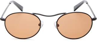 KENDALL + KYLIE Women's Tasha Brow Bar Round Sunglasses, 49mm
