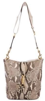 Gucci Python Soft Jackie Bucket Bag