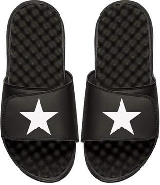 ISlide Men's Star Slide Sandals, Black