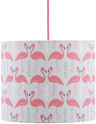 Rosa & Clara Designs - Flamingo Flourish Lampshade Ice Blue Medium