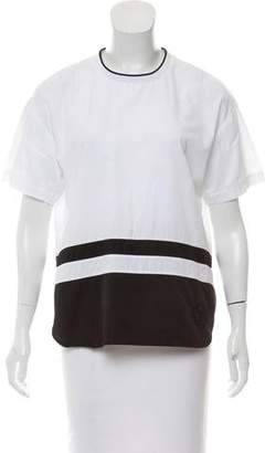 Alexander Wang Structured Striped Top