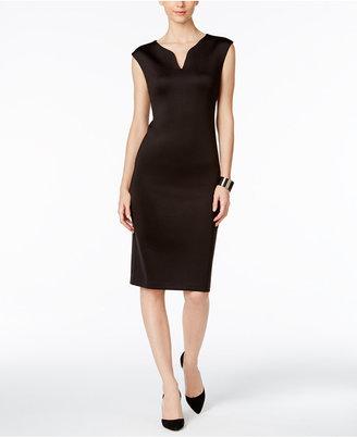 Eci V-Neck Sheath Dress $70 thestylecure.com