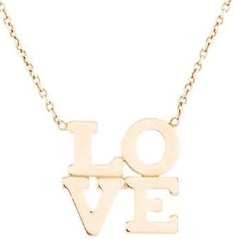 Chicco Zoë 14K Love Pendant Necklace