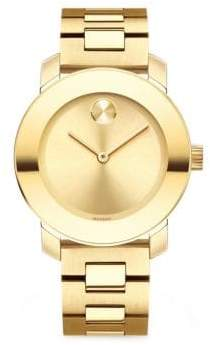 Movado Bold Analog Stainless Steel Bracelet Watch