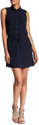 Haute Hippie Snap Button Pocket Dress