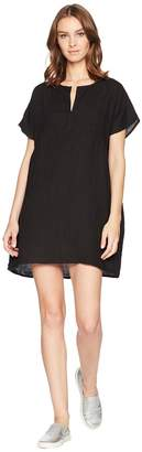 Allen Allen Solid Boxy Pullover Dress Women's Dress