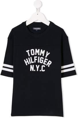 Tommy Hilfiger Junior logo-print T-shirt