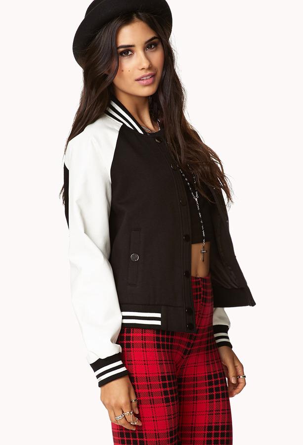 Forever 21 Half Time Varsity Jacket