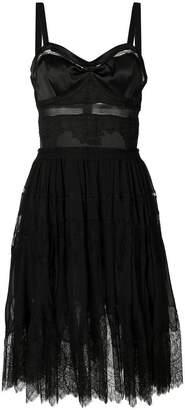 Ermanno Scervino lace-panelled dress