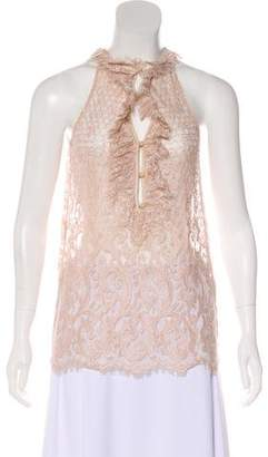 Diane von Furstenberg Sleeveless Lace Top