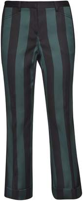 N°21 N.21 Striped Cropped Trousers