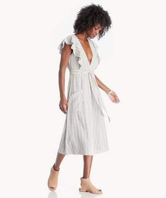 Sole Society Kika Tie Midi Dress