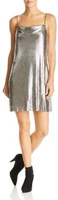 Alice + Olivia Harmony Chain Mail Slip Dress