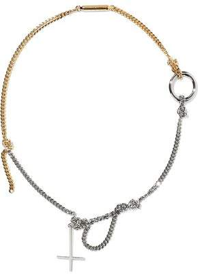 Alexander Wang Silver And Gold-Tone Necklace