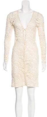 Alexis Lace Knee-Length Dress w/ Tags