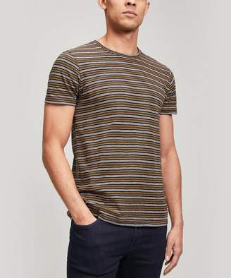 Nudie Jeans Anders Thin Stripe Cotton T-Shirt