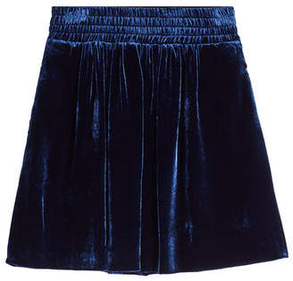 Golden Goose Albina Velvet Skirt