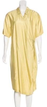 Dries Van Noten Short Sleeve Midi Dress