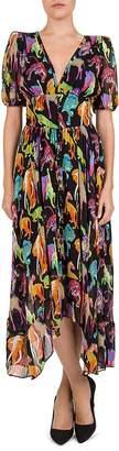 The Kooples Funky Jungle Printed Dress