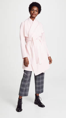 Harris Wharf London Wool Robe Coat