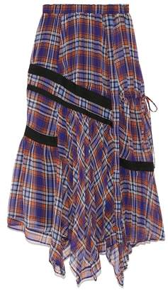Snidel (スナイデル) - スナイデル チェックパターンデザインスカート