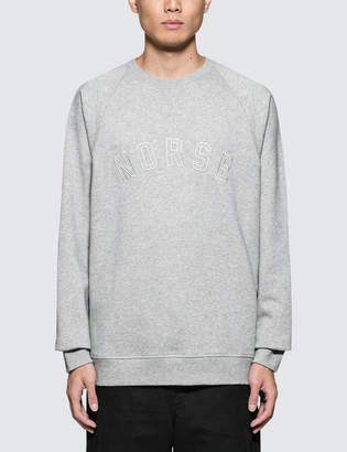 Norse Projects Ketel Classic Ivy Logo Sweatshirt