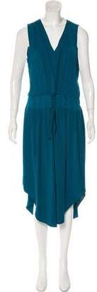 Ramy Brook Cameron Satin-Trimmed Dress w/ Tags