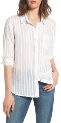 Women's Rails Charli Cotton Shirt $148 thestylecure.com