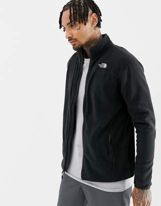 The North Face 100 Glacier Full-Zip Fleece in Black