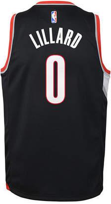 Nike Damian Lillard Portland Trail Blazers Icon Swingman Jersey, Big Boys (8-20)