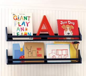 Pottery Barn Kids 4 Inch Deep Collector's Shelf, 2 Foot x 6.5 Inch Simply White