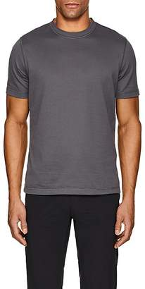 Giorgio Armani Men's Textured-Stripe Cotton T-Shirt
