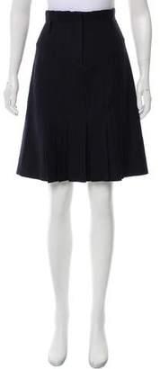 Philosophy di Alberta Ferretti Knee-Length Pleated Skirt