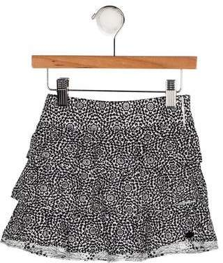 Catimini Girls' Floral Print Skirt