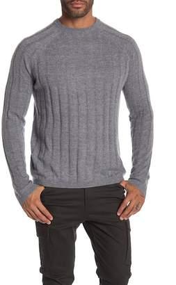 Autumn Cashmere Ribbed Crew Raglan Sweater