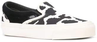 Vans Ua og classic cow print slip on sneakers