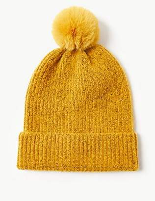 Marks and Spencer Textured Spongy Beanie Hat