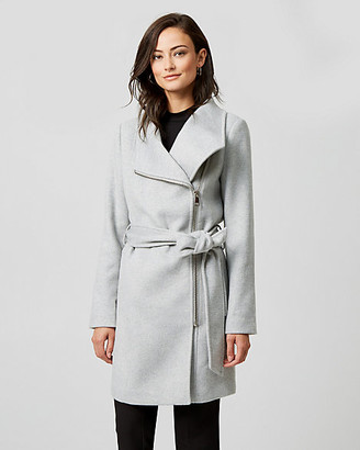 Le Château Wool Twill Convertible Coat