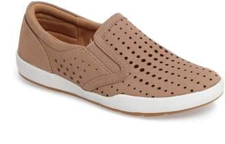 Comfortiva Lyra Perforated Slip-On Sneaker