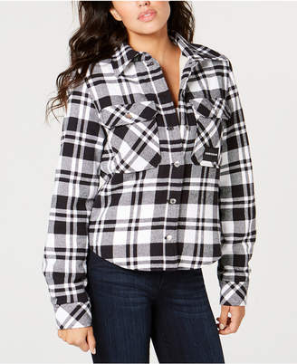 Calvin Klein Jeans Plaid Shirt Jacket