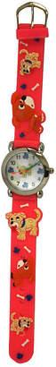 OLIVIA PRATT Olivia Pratt Kids Pink Dog Strap Watch-17195