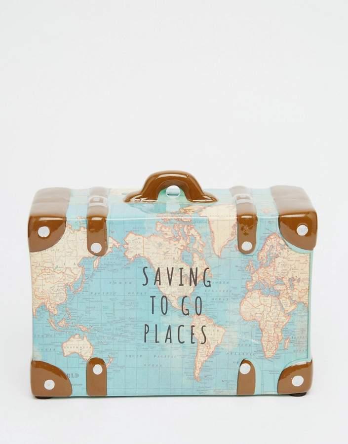 Sass & Belle Saving To Go Places Money Box