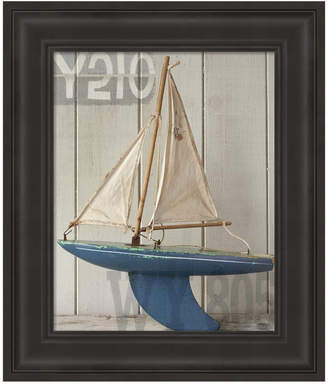 Metaverse Sailboat I by Symposium Design Framed Art